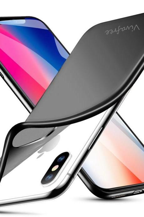 iPhone X XS Sleek Flat Black Matte Case NEW